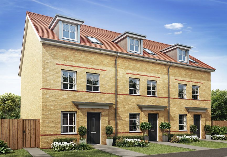 Barratt homes new development to boost local economy by for New housing developments