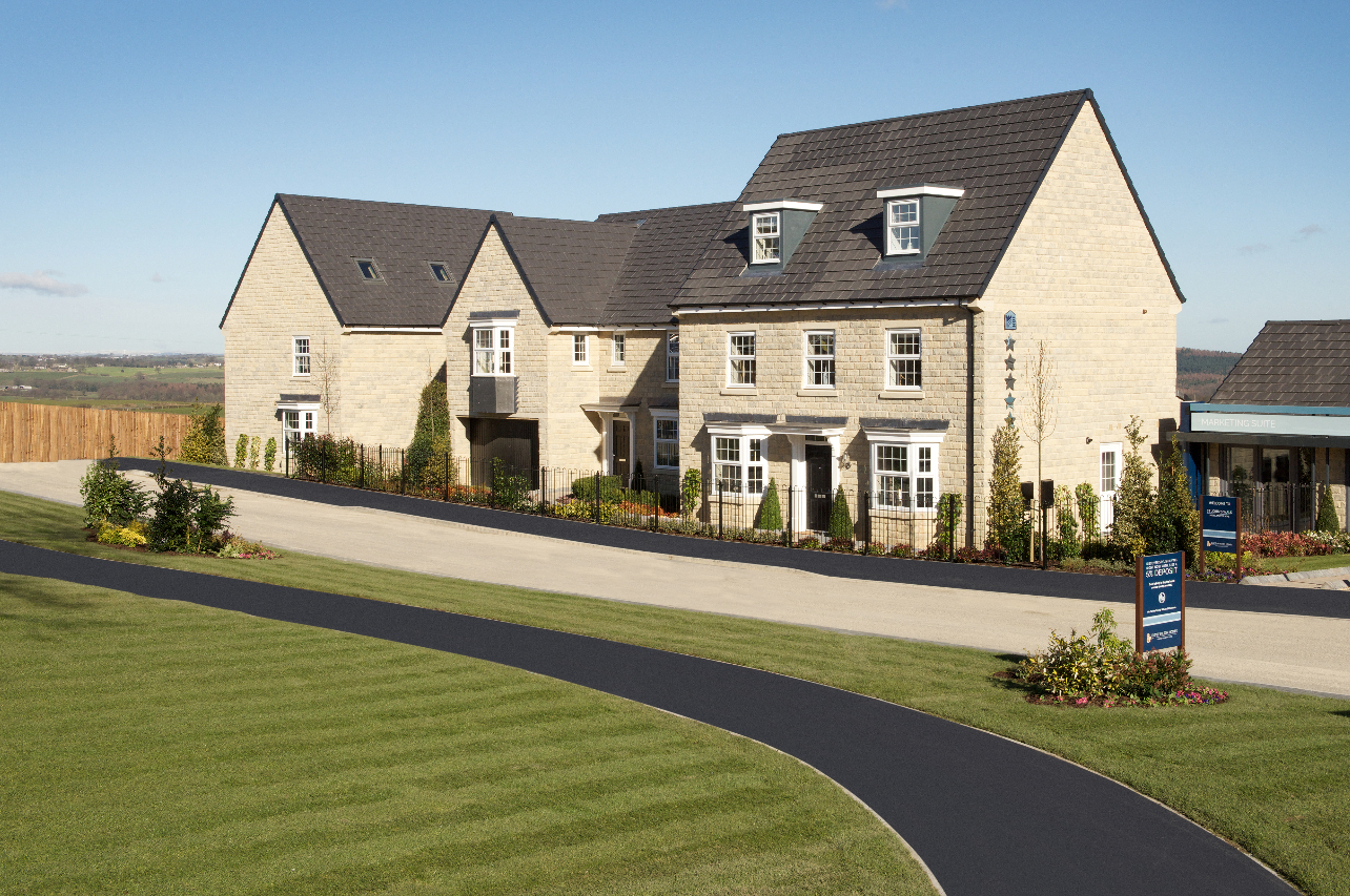 Local housebuilder reveals happy homeowners across for Local house builders